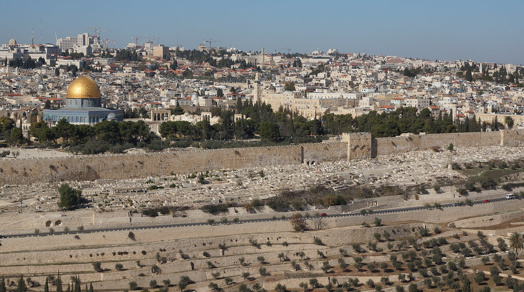 Report From Jerusalem >> Wall around Jerusalem   The Dome of the Rock is a shrine loc…   Flickr