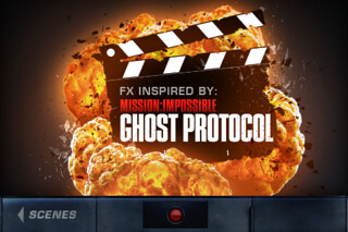 Action Movie FX - iPhone App inspired by Mission Impossible Ghost Protocol [review] | by methodshop.com