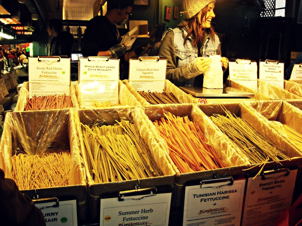Image result for Pappardelle's Pasta of Pike Place Market