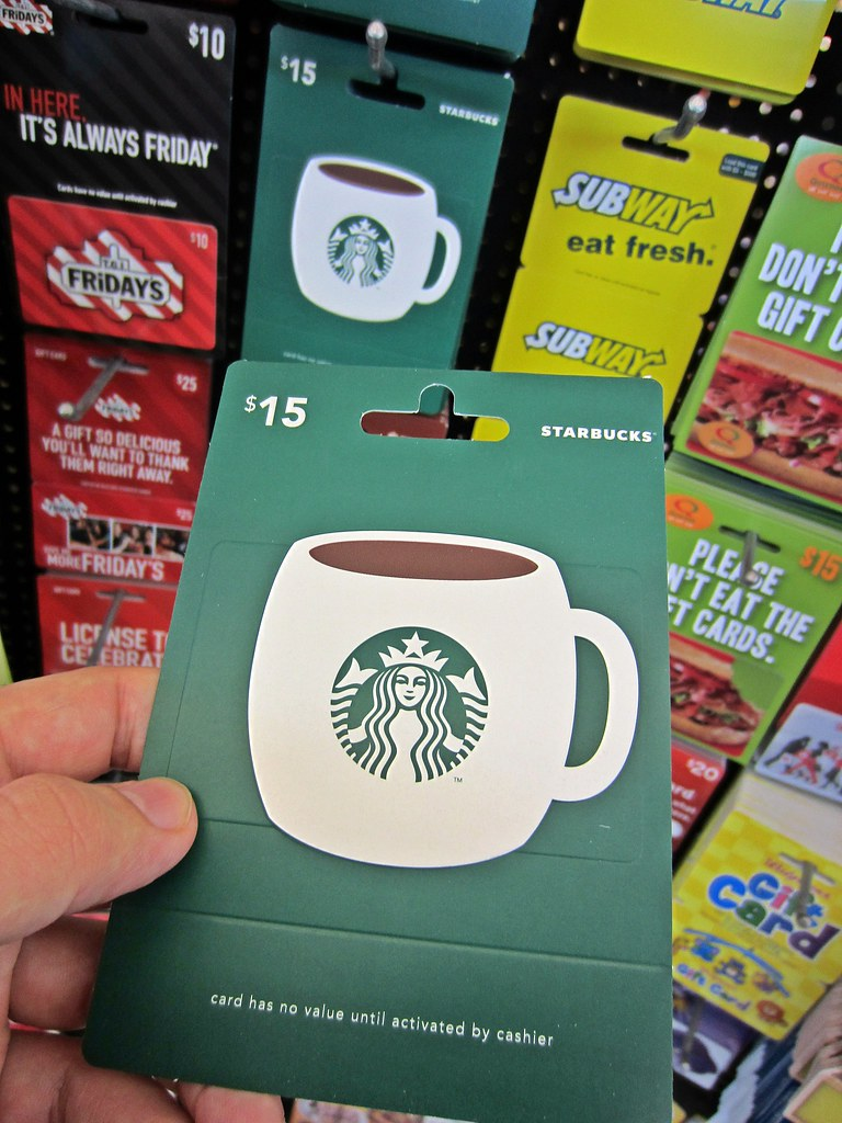 Image result for starbucks giftcard