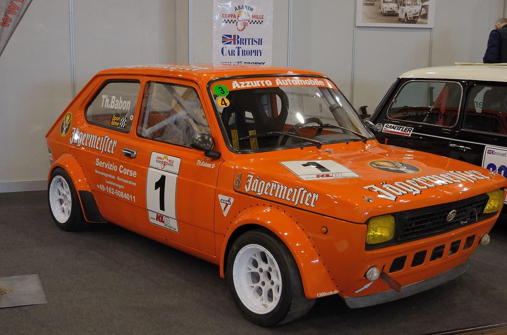 Abarth Coppa Mille Fiat 127 J 228 Germeister Fiat 127 Bei