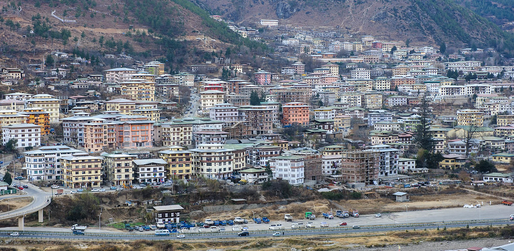 Thimphu Bhutan  city pictures gallery : Thimphu, Bhutan | Thimphu is starting to develop quite rapid ...