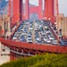 Miniature Golden Gate Bridge