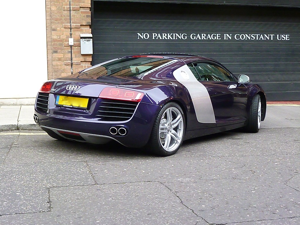 Audi R8 Velvet Purple Ben Flickr