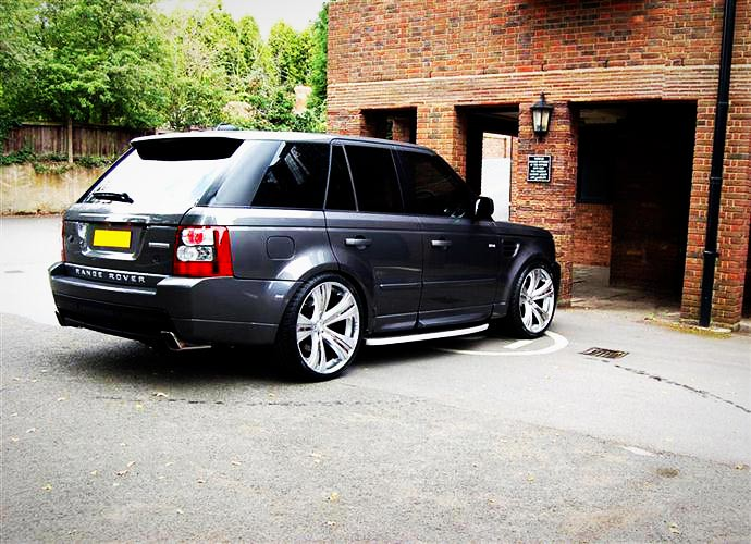 Range Rover Sport On Mania Savoy 2010 Range Rover Sport On Flickr