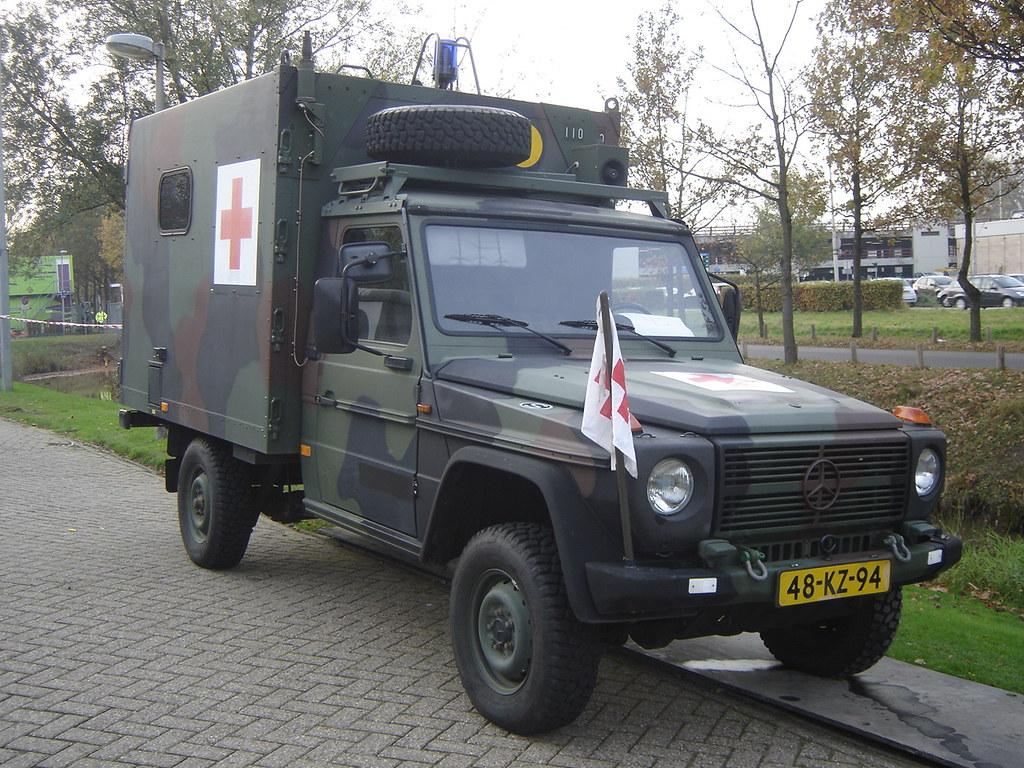 Utrecht Mercedes Benz G Klasse Military Ambulance Flickr