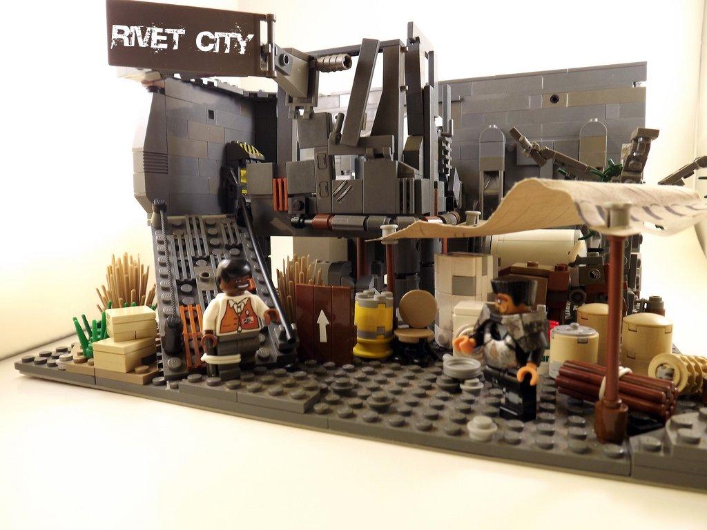 Rivet city caravan stop fallout 3 rivet city is a city for Rivet city security
