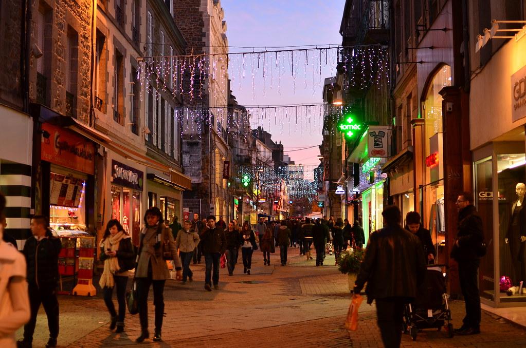 Saint Brieuc Rue Gounosd Centre Ville