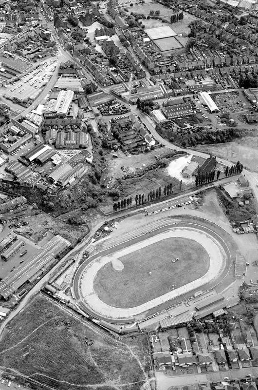 Cradley Heathens Speedway Aerial View 1976 Dudley Wood Sta Flickr