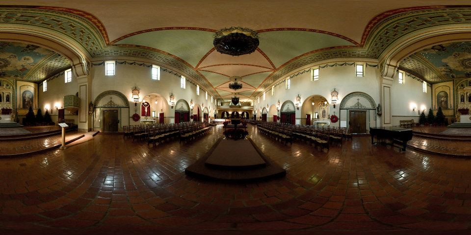 Panoramic of Mission Santa Clara de Asis | One of my new ...