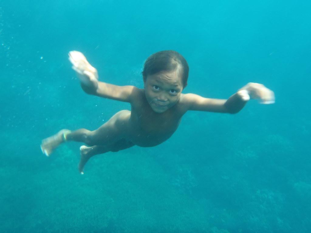 Badjao Kid With Excellent Underwater Vision  Badjao Kids -4713