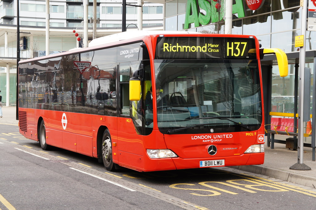 London united ratp mercedes benz citaro mcl7 location for London mercedes benz