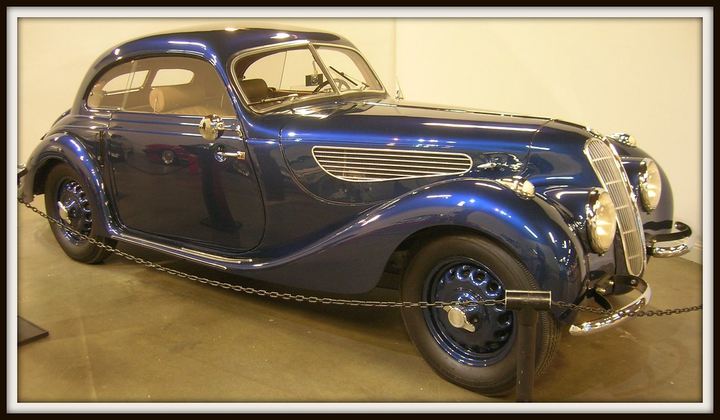 1939 Bmw 327 28 Pillarless Coupe 3 Photographed At The