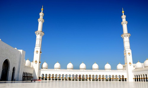 Sheikh Zayed Grand Mosque, Abu Dhabi U A E | by mamasain