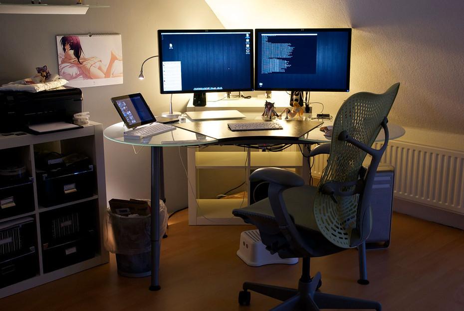 Home Office January 2012 Update Another Stylish Otaku