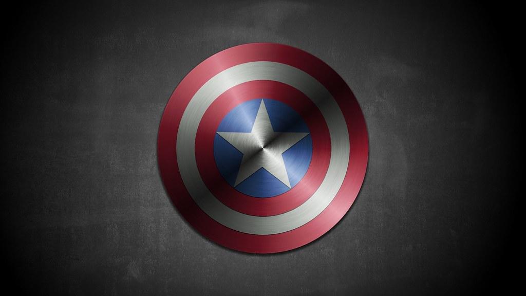 scudo captain america con gimp lo scudo di captain