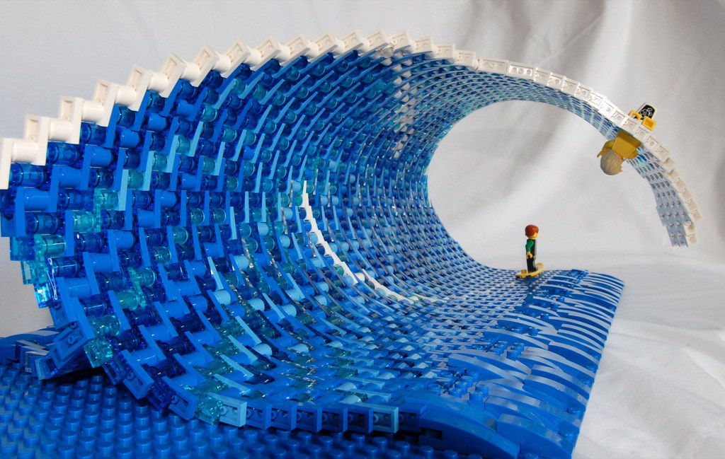 Wave Tube The Wave Can Be Bent Over Due To Its Flexible