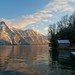 Traunsee at dawn