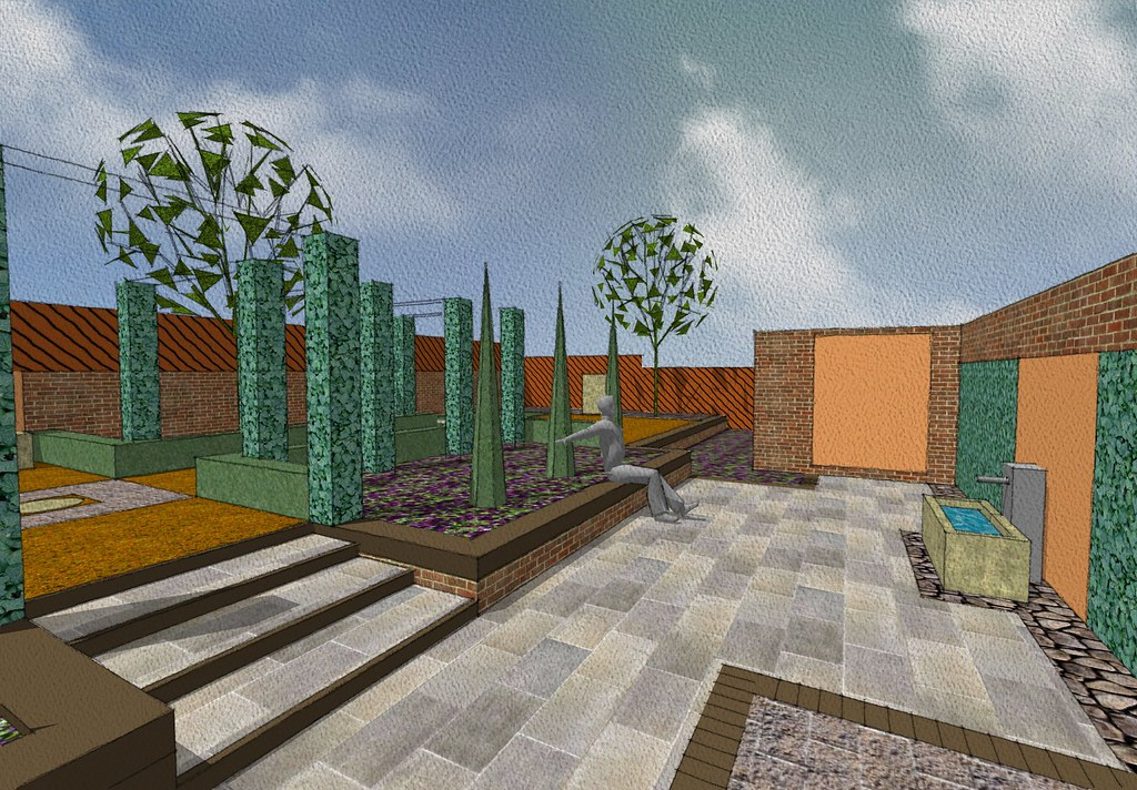 Garden Landscaping East Yorkshire : Garden design bi burton east yorkshire contemporary flickr