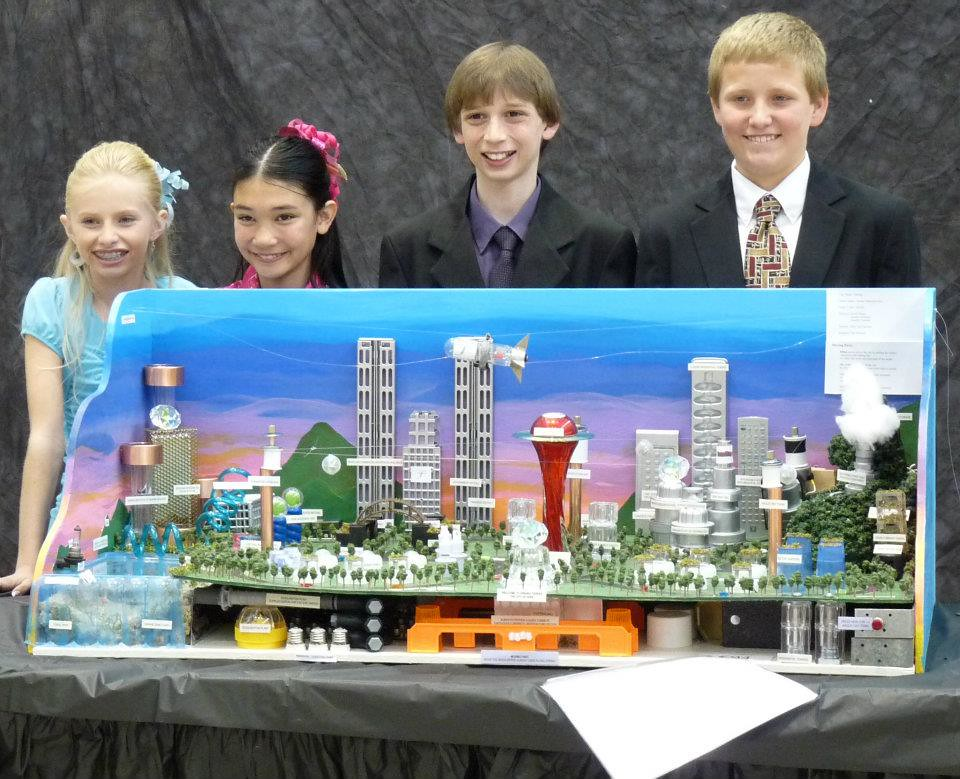 Pictures Of Toy Models Of Cities : Team xiwang model future city cambrie hickman rachel