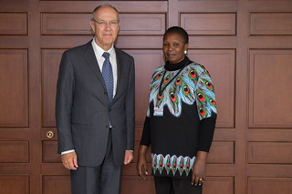 WIPO Director General Meets South Sudan's Minister for Youth and Culture | by WIPO | OMPI