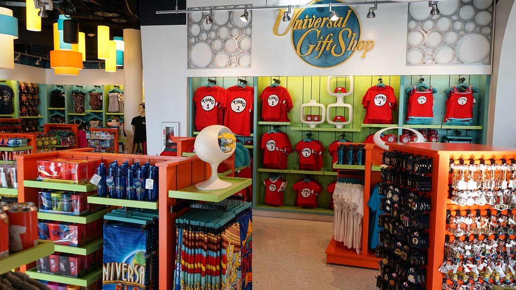 Universal Gift Shop Cabana Bay Beach Resort Dan
