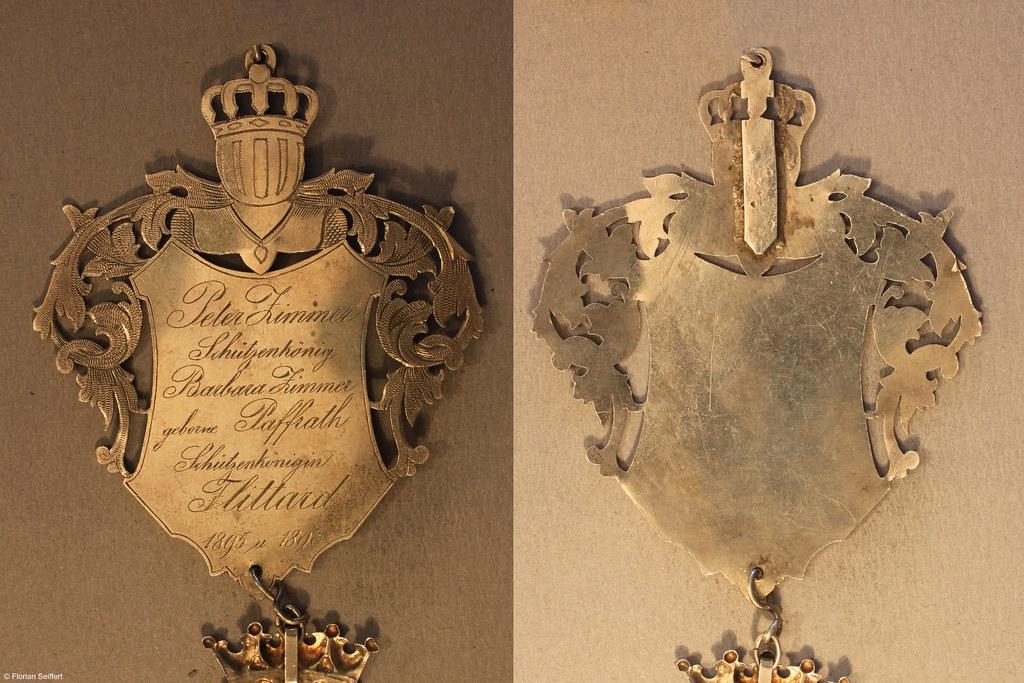 Koenigsschild Flittard von zimmer peter aus dem Jahr 1895