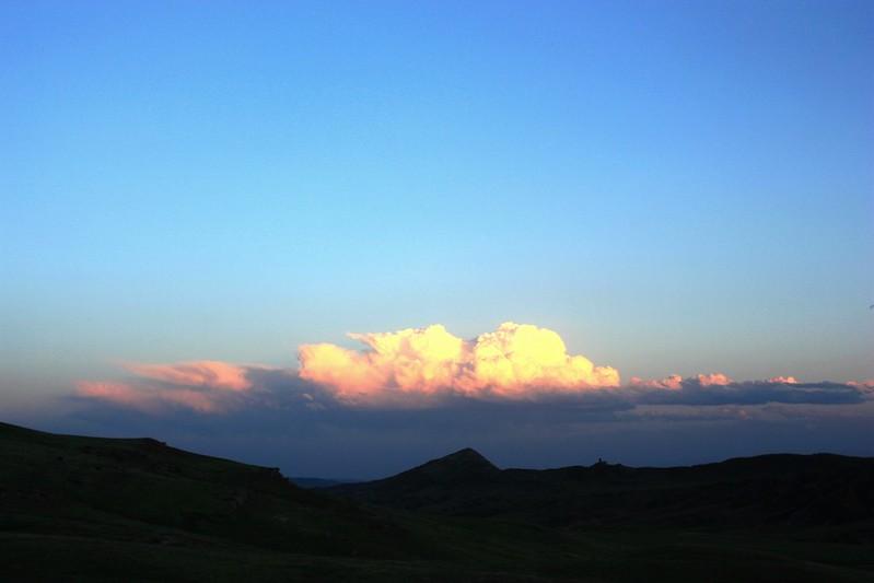 Давид-Гареджи, облака