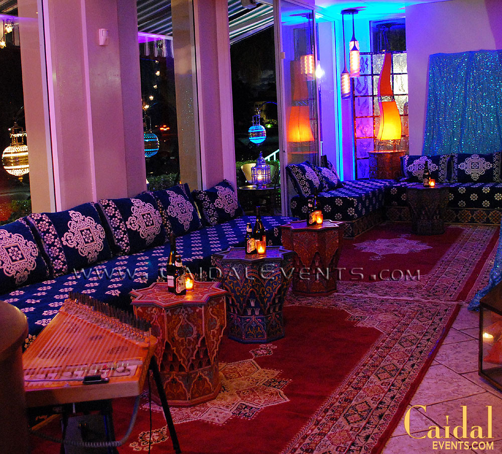 Moroccan themed dinner at bamboo cafe in naples florida