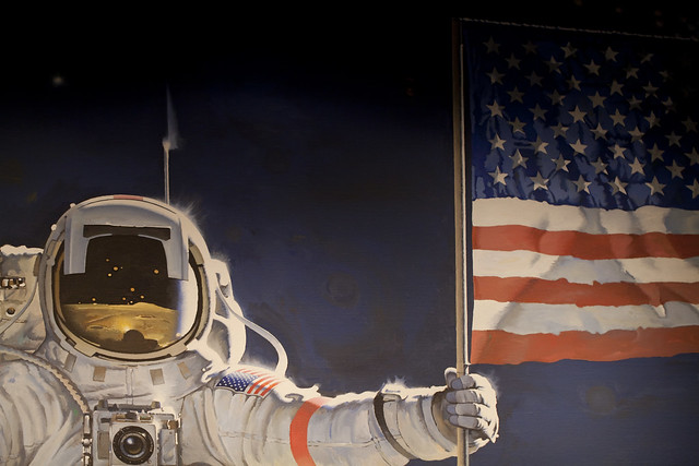 Astronaut And American Flag | Flickr - Photo Sharing!