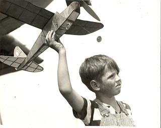 Farm Boy With Plane | by Mirror Image Gallery