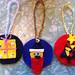 Rowan's felt ornaments