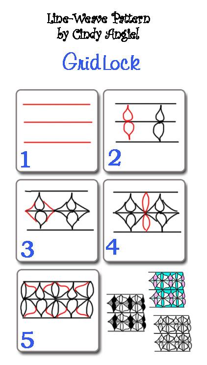 gridlock tangle you can download this pattern worksheet fr flickr. Black Bedroom Furniture Sets. Home Design Ideas