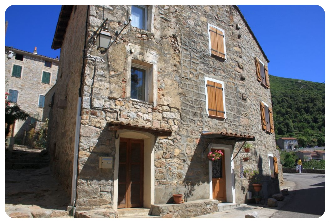 corsica village houses