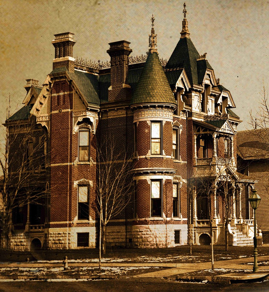 J c wormer house detroit mi i found a damaged black for Building a house in michigan