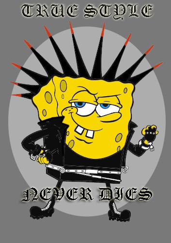Sponge Bob Punk Pants | Cros over of our favourite cartoon c ...