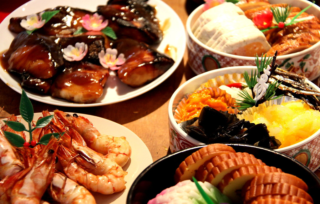 Japanese traditional food for new year peachykeen103 for Authentic asian cuisine