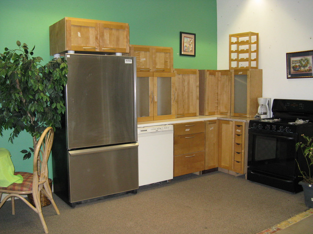 Sample kitchen put together appliances and cabinets from r flickr - Putting together stylish kitchen abcs ...