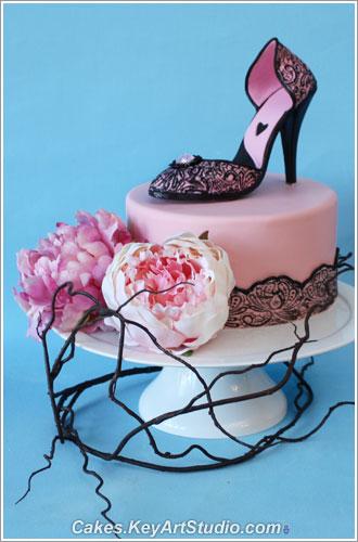 Heel Cake Topper