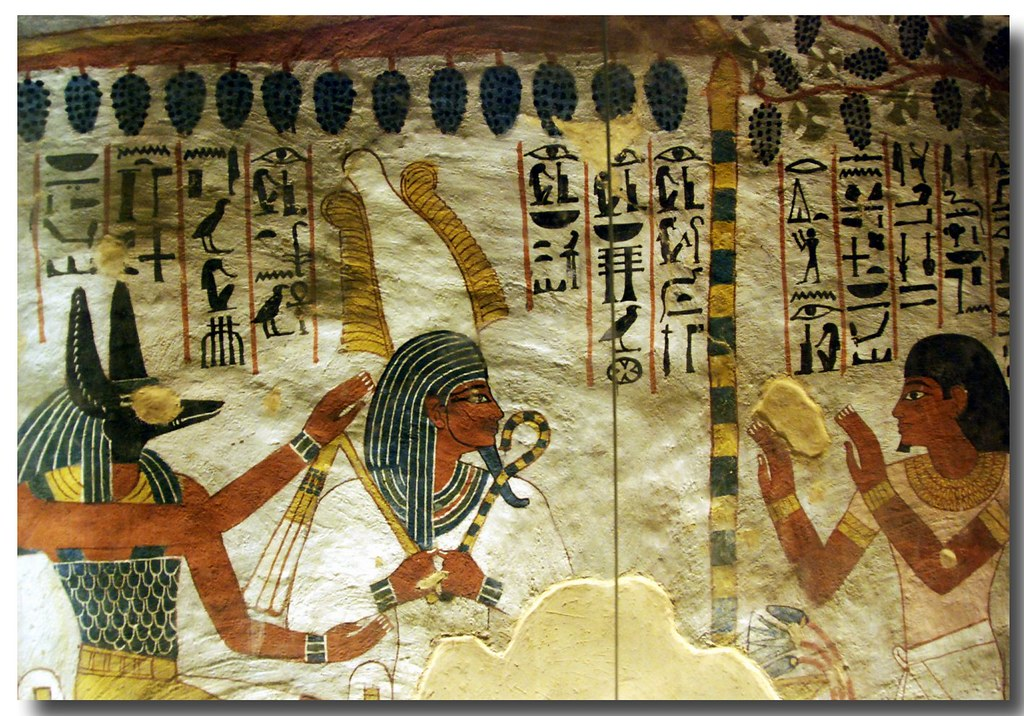 Tomb Of Sennefer The Ancient Egyptian Noble Sennefer Or