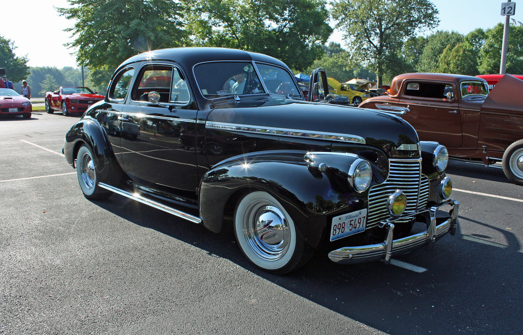 1940 Chevrolet Special Deluxe Business Coupe Street Rod 2
