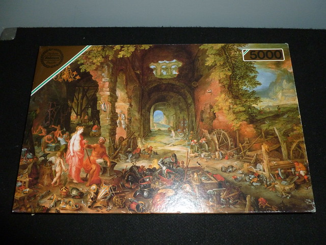 5000 piece puzzle the elements fire by jan bruegel