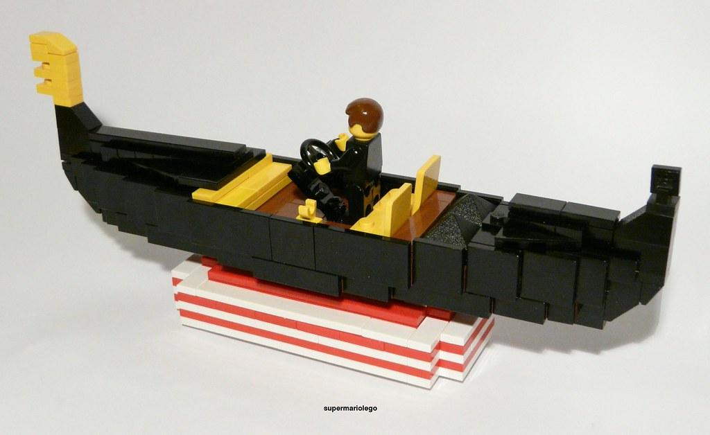 james bond gondola lego james bond gondola from the. Black Bedroom Furniture Sets. Home Design Ideas