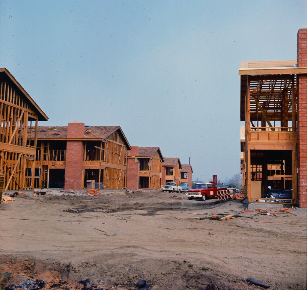 Apartments In Orange County: Apartments Under Construction, Orange County, March 1966