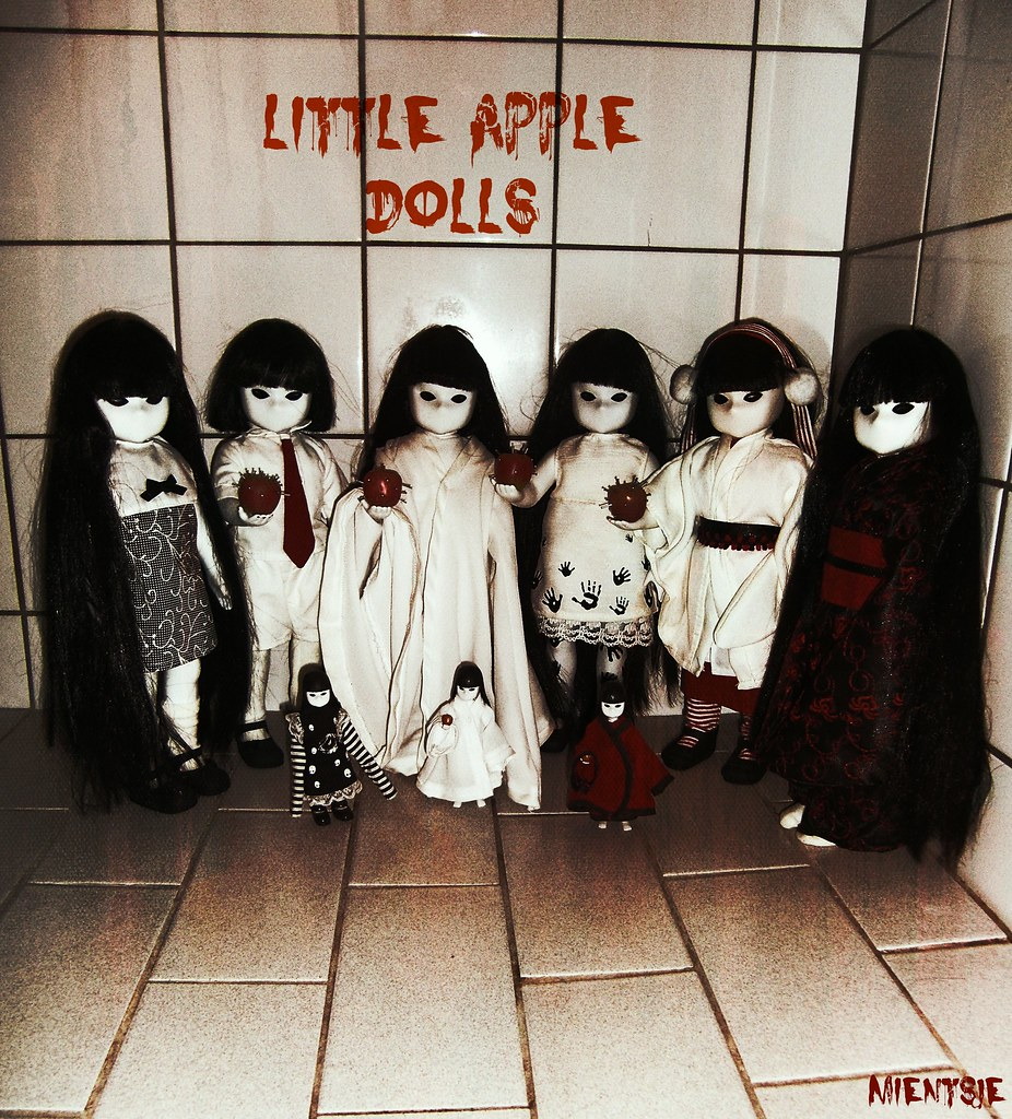 Little Apple Red Dolls Little Apple Dolls | by