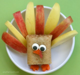 Thanksgiving turkey snack | by anotherlunch.com