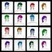 16 David Bowies