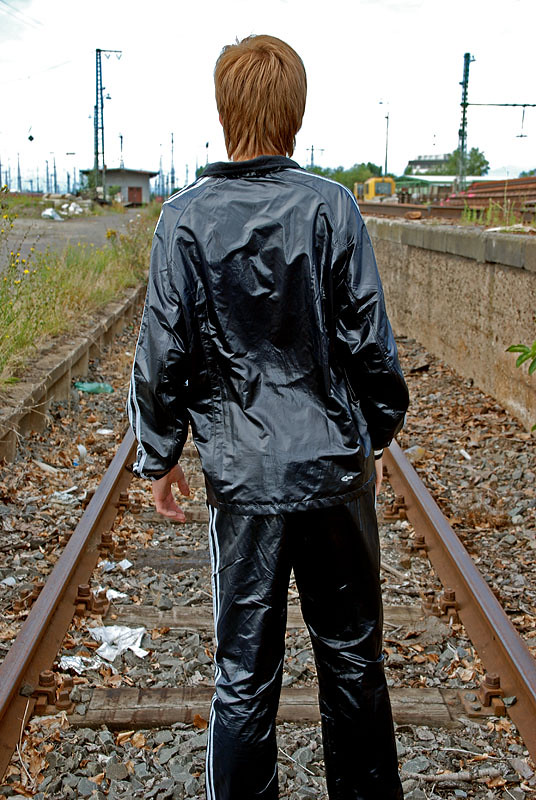 Adidas nylon pants - 2 2