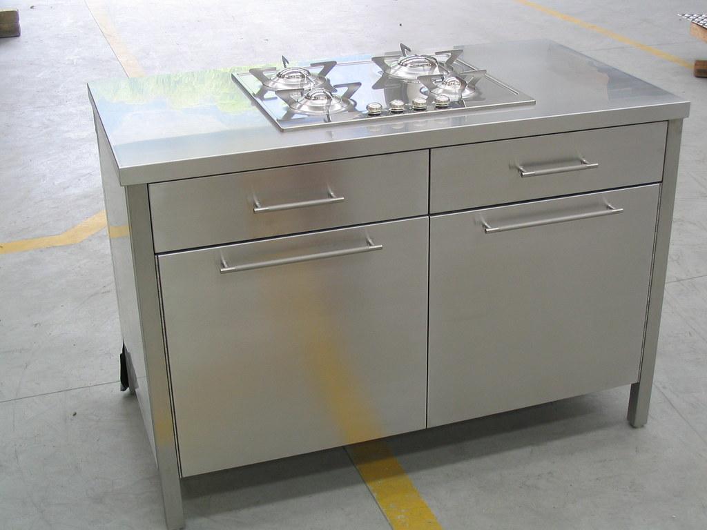 Awesome Mobili Cucina Acciaio Images - Home Interior Ideas ...