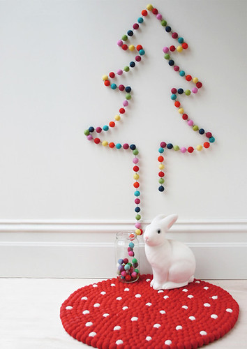 garland christmas tree | by the style files